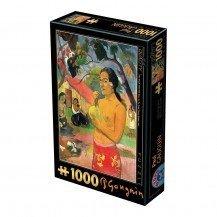 Puzzle 1000 pièces Gauguin - Eu Haere ia oe - DToys