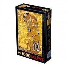 Puzzle 1000 pièces Klimt - l'Accomplissement - DToys