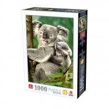 Puzzle 1000 pièces - Koalas - Dtoys