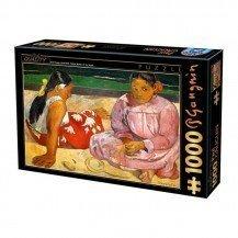 Puzzle 1000 pièces Paul Gauguin - Femmes de Tahiti - Dtoys