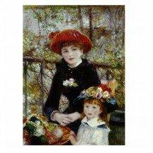Puzzle 1000 pièces Renoir - Sur La Terrasse - Dtoys