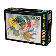 Puzzle 1000 pièces Vassily Kandinsky - Dominant Curve