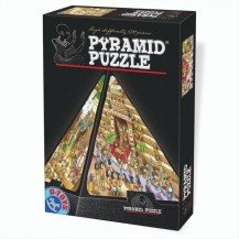 Puzzle 504 pièces en 3D - Egypte Cartoon - DToys