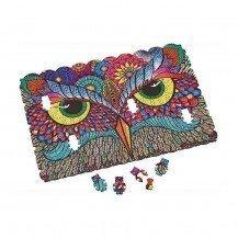 Micro Puzzle en bois It's a Hoot - 40 pièces - Wentworth