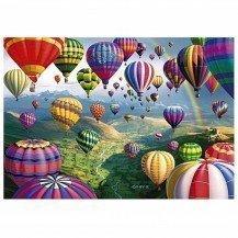 Micro Puzzle en bois Sky Roads - 40 pièces - Wentworth