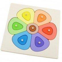Puzzle didactique petite Fleur - Artisan Tchèque