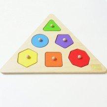 Puzzle didactique Formes Géométriques - Artisan Tchèque