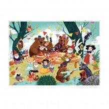 Puzzle en bois il était une fois - 50 pièces - Puzzle Michèle Wilson