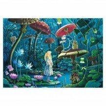 Puzzle en bois Alice au Pays des Merveilles - 100 pièces - Puzzle Michèle Wilson