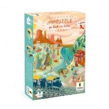 Puzzle à remonter le temps 150 pièces - Farwest - Pirouette Cacahouète