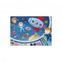 Puzzle en bois Les Astronautes 50 pcs - Puzzles Michèle Wilson