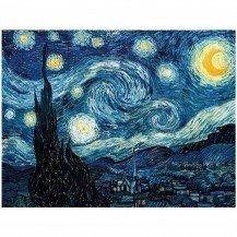 Puzzle en bois Nuit étoilée - Van Gogh 50 pièces - Puzzles Michèle Wilson