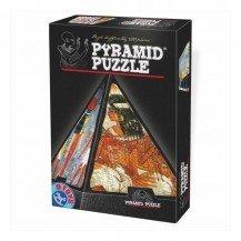 Puzzle pyramide 3D - 500 pièces fresques égyptiennes - Dtoys