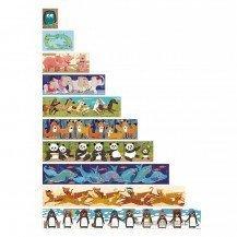 Puzzle 10 pingouins 55 pcs - Fabricant Espagnol