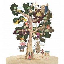 Puzzle 50 pièces l'arbre des saisons - Fabricant Espagnol