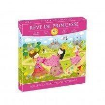 Rêve de Princesse - Jeu de parcours et de stratégie - Zoe Yateka