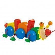 Bako jouet en bois à traîner - Selecta