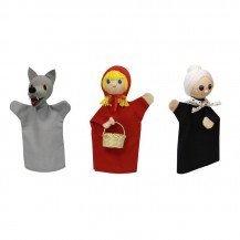 Set Marionnettes Chaperon Rouge - Artisan Tchèque