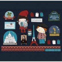Stickers Souvenirs de paris repositionnables - Poisson Bulle