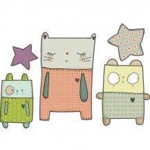 Stickers 3 doudous - Poisson Bulle