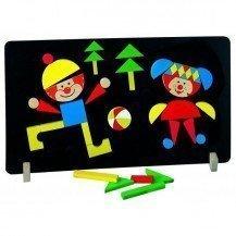 Tableau magnétique Clowns - Artisans Tchèques