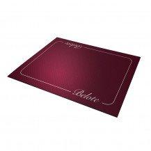 Tapis de Cartes Belote - Excellence bordeaux 40 x 60 cm - Fabricant Français