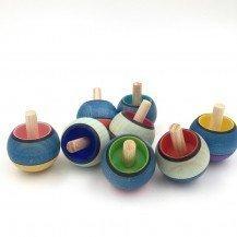 Toupie en bois magique Confetti - Fabricant Européen