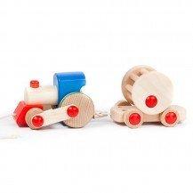 Train en bois Tchoo Tchoo - Artisan Polonais