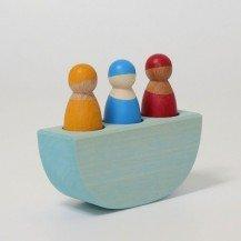 Trois amis dans un bateau de Grimm's - Grimm's