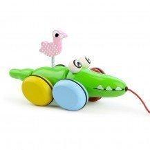 Croc et Odile jouet à traîner - Vilac
