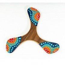 Wankura Boomerang tripale pour droitier - Wallaby Boomerangs