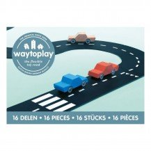 Circuit de voitures route nationale 16 pcs - WayToPlay