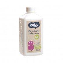 Recharge bulles de savon biologique 500 ml - Zélio