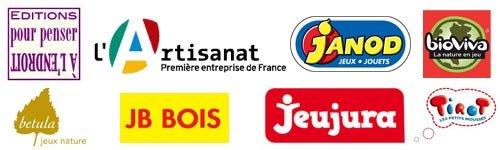 Nos fournisseurs de jouets français