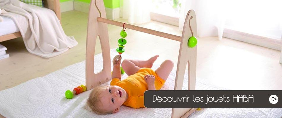 Découvrez tous les jouets Haba, la célèbre marque allemande de jouets en bois