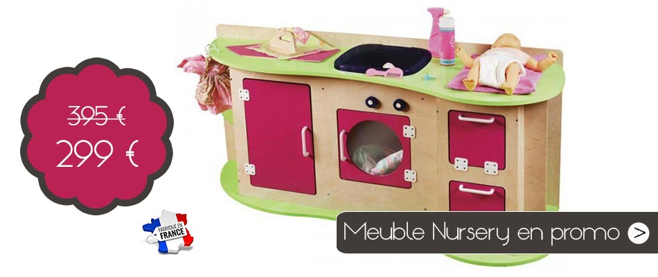 Un meuble nursery en bois made in France à prix canon